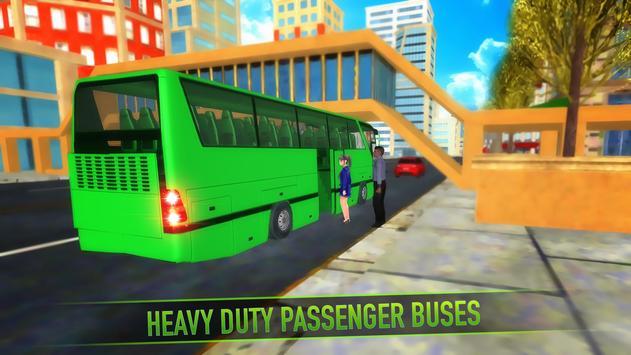 Real Bus Parking 2017 - City Coach Simulator screenshot 2