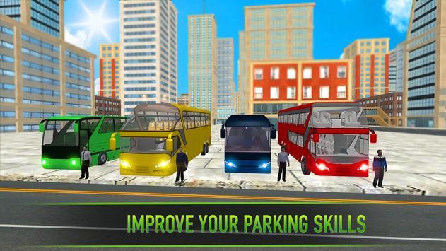 Real Bus Parking 2017 - City Coach Simulator screenshot 4