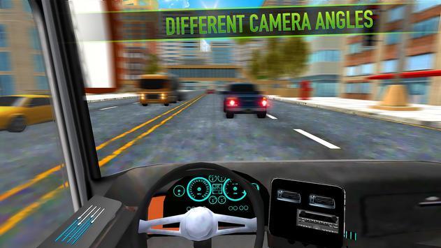 Real Bus Parking 2017 - City Coach Simulator screenshot 9
