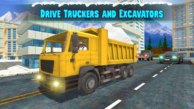 Heavy Excavator : Crane screenshot 1