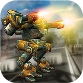 Grand Superhero Robot : Futuristic Transformer War icon