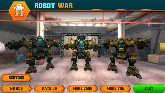 Grand Superhero Robot : Futuristic Transformer War apk screenshot
