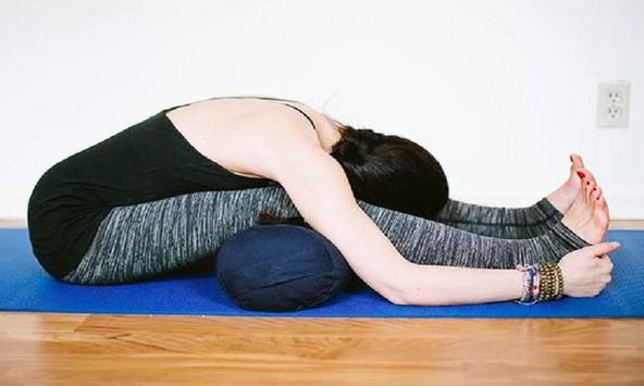 Yoga for Back Pain Relief in Hindi poster