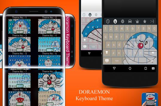 The Doramon Keyboard Theme apk screenshot