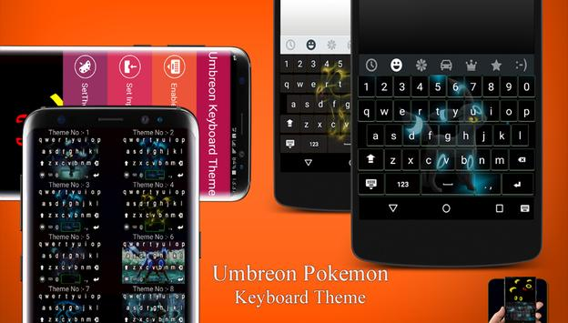 Umbreon Keyboard Theme poster