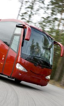 Theme Bus Scania IrizarCentury poster