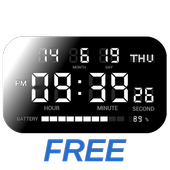 Simple Digital Clock - DIGITAL CLOCK SHG2 FREE icon