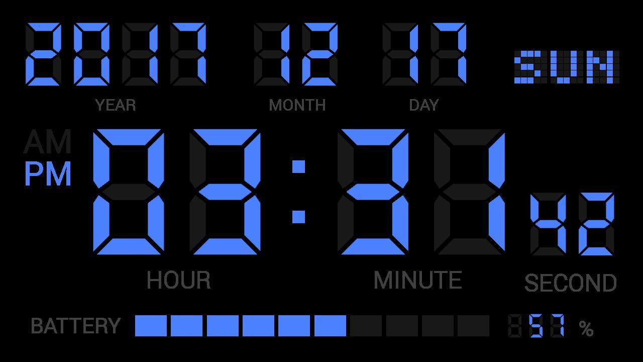 чаще картинки на рабочий стол электронные часы габариты современных