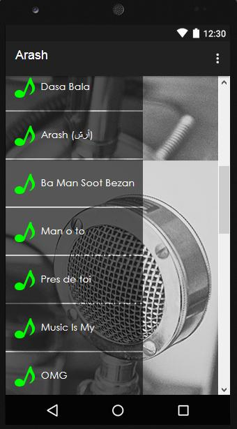 Arash Songs & Lyrics for Android - APK Download