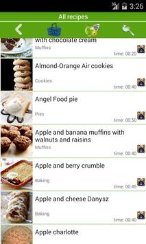 Baking recipes apk screenshot