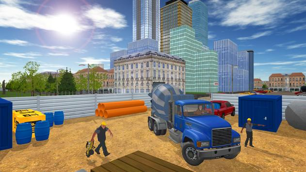 Construction Truck Transport apk screenshot