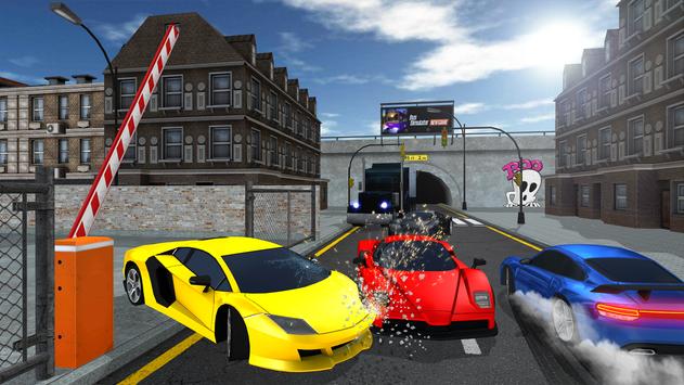 SUPER CAR GAME poster