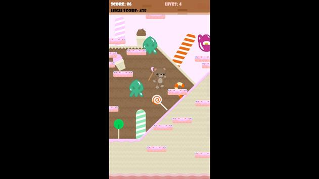 Candy Bear Jump apk screenshot