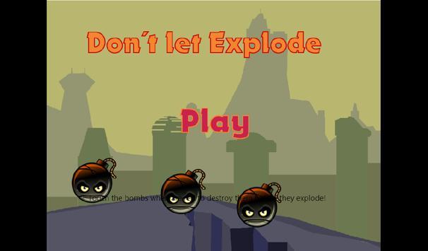 Don´t Let Explode poster