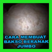 CARA MEMBUAT BAKSO BERANAK SUPER JUMBO icon