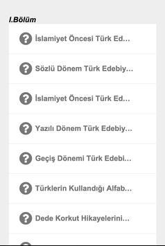 10.Sınıf Türk Dili Edebiyatı poster
