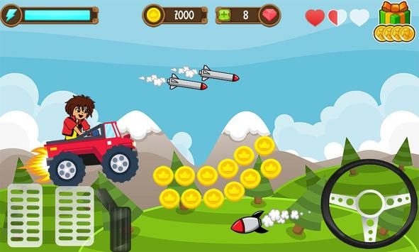 Dan Adventure Race game screenshot 2