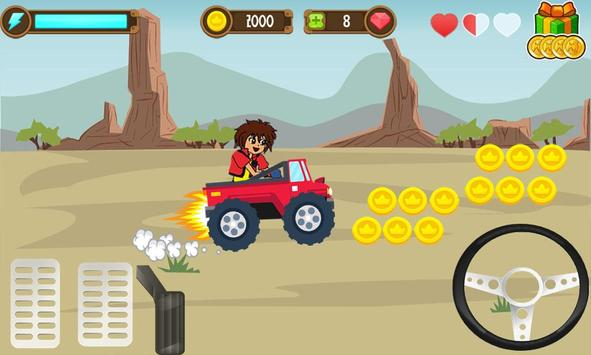 Dan Adventure Race game screenshot 3