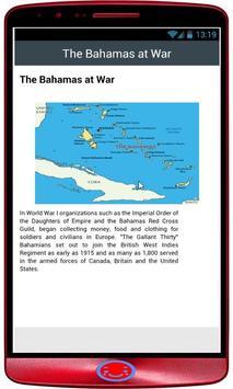 Bahamas History poster