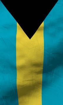 Bahamas flag lwp Free apk screenshot