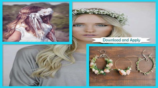 Adorable DIY Flower Headband poster