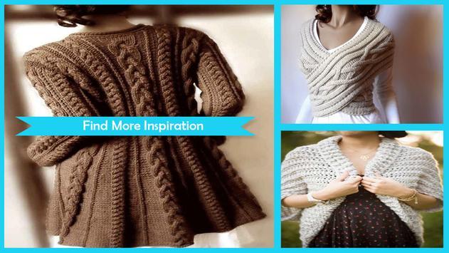 Beautiful Women Sweaters Patterns poster