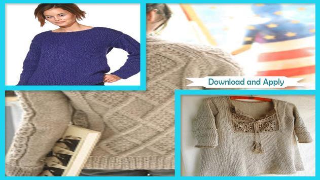 Beautiful Women Sweaters Patterns screenshot 1