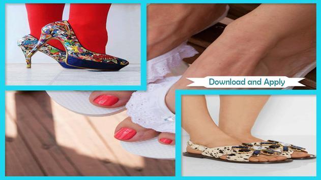 Best DIY Crystal Embellished Sandals screenshot 1