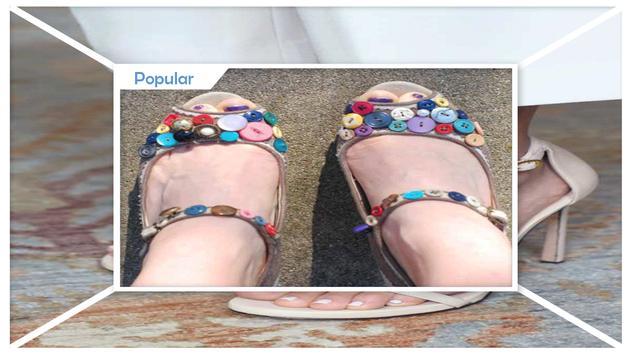 Best DIY Crystal Embellished Sandals screenshot 2