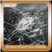Broken Screen Live Wallpaper icon