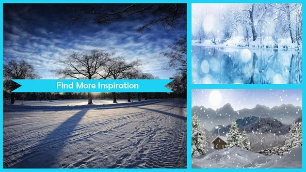 Cool Winter Live Wallpaper apk screenshot