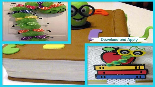 Cute Styrofoam Bookworm Ideas poster