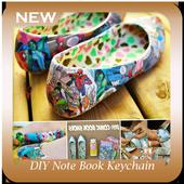 DIY Note Book Keychain icon