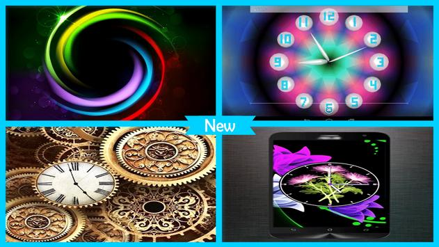 3D Neon Clock Live Wallpaper apk screenshot