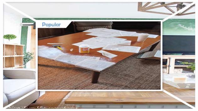 Easy Chalkboard Coffee Table Tutorial screenshot 2