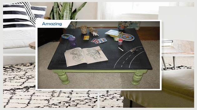 Easy Chalkboard Coffee Table Tutorial screenshot 3