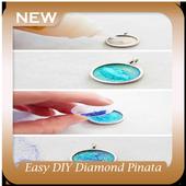Easy DIY Diamond Pinata Necklace icon