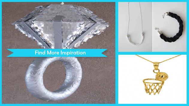 Easy DIY Diamond Pinata Necklace apk screenshot