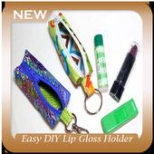 Easy DIY Lip Gloss Holder icon