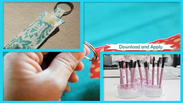 Easy DIY Lip Gloss Holder poster