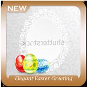 Elegant Easter Greeting icon