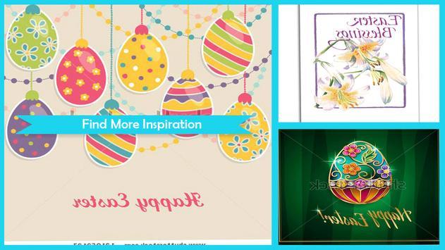 Elegant Easter Greeting poster