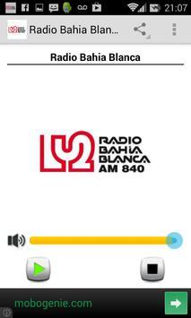 Radio Bahia Blanca poster