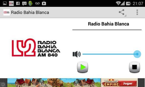 Radio Bahia Blanca screenshot 2