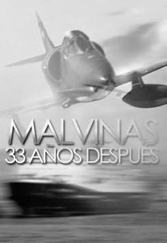 Malvinas, 33 años después poster