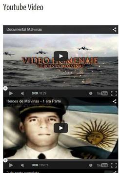 Malvinas, 33 años después screenshot 2