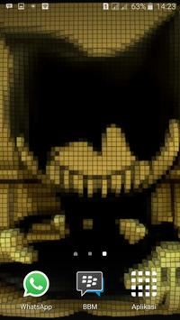 3D Pixel Bendy Ink Wallpapers apk screenshot