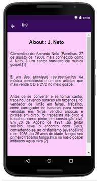 J. Neto Lyrics&Music स्क्रीनशॉट 1