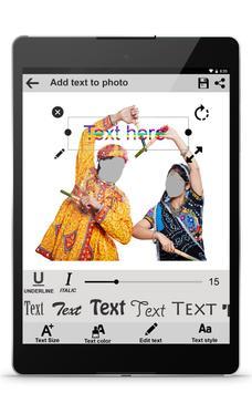 Secret : Navratri Photo Frames screenshot 12