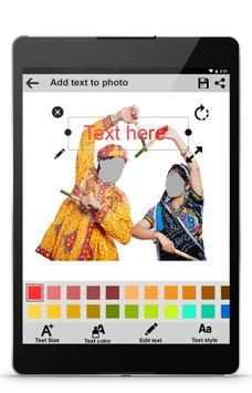 Secret : Navratri Photo Frames screenshot 13
